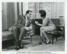 ROCK HUDSON LESLIE CARON A VERY SPECIAL FAVOR  1965 VINTAGE PHOTO ORIGINAL #12