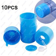 10X 5 Gallon Replacemet Water Bottle Snap On Cap Anti Splash Peel Off Top 55mm