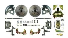 Brake Conversion Kit-Drop Booster Power Disc Conversion Front The Right Stuff