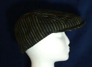 Ladies trendy flat cap hat Peaky Blinders country life Black, fashion NEW
