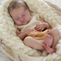 17 Inches Lifelike Newborn Reborn Baby Levi Vinyl Unpainted Unfinished Dollparts