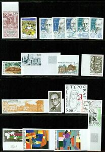 FRANCE – 1986-1987 –IMPERF. COLLECTION – VF  **