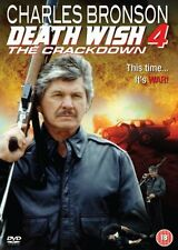 Death Wish 4  DVD  (Brand New)  Bronson