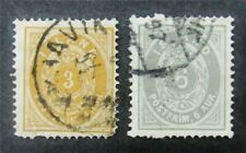 nystamps Iceland Stamp # 10,15 Used $65 F26y748