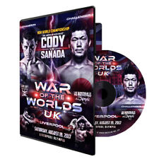Official ROH Ring of Honor & NJPW War of the Worlds 2017 UK Liverpool Event DVD
