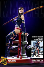 X-MEN SIDESHOW PSYLOCKE COMIQUETTE EXCLUSIVE EDITION 1/4 SCALE STATUE BRAND NEW