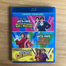 Austin Powers Collection *with Slip Cover* (Blu-ray Disc, 2012, 3-Disc Set)