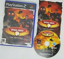CT SPECIAL FORCES: FIRE FOR EFFECT-RARE Sony PS2 game