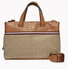 Tommy Hilfiger Damen Handtasche, Schultertasche, Satchel Hand Bag