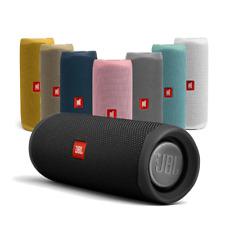 More details for jbl flip 5 portable waterproof bluetooth partyboost speaker black & colours