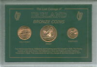 Ireland Eire Irish History Vintage Pre-Decimal Bronze Coin Collector Gift Set