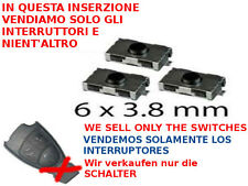 3x tasti switch interruttore per soli telecomandi di Mercedes A B C ML S 2T o 3T