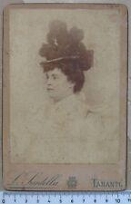 Fotografia Studio Fot. L. Scudella - Taranto- Dama 1800