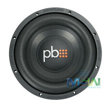"PowerBass S-1004 10"" SINGLE 4-OHM CAR AUDIO SUBWOOFER SUB WOOFER 550W MAX S1004"