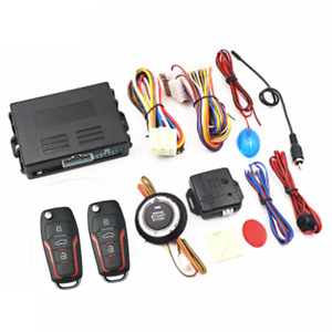 Keyless  Entry Car Engine Start Stop Ignition Push Button Alarm Security System