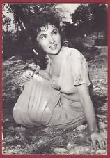 GINA LOLLOBRIGIDA 35 ATTRICE ACTRESS CINEMA MOVIE STAR PEOPLE Cartolina