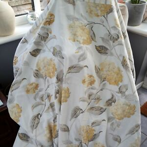Laura Ashley Kingsize Quilt Cover And Pillowcases Yellow Hydrangea
