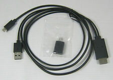 VW KENWOOD DAB NAVIGATION UNIT 5 OR 11 PIN ANDROID POWER LEAD - NEW GENUINE