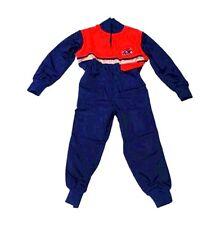 New Kids Boiler Suit - Blue / Red Children's Green Boiler Suit Kids Overalls