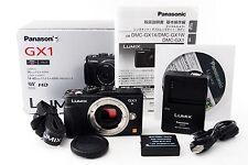 Panasonic LUMIX DMC-GX1 16.0 MP Digital Camera Black body only w/ Box #149451