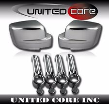 Chrome Mirror Cover Door Handle Cover Dodge Nitro 07-12 Jeep Liberty 08-12