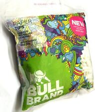 4 x BULL BRAND 600 Bag KING SIZE PRE-ROLLED 6mm TIP PAPER ROACHES ROACH TIPS