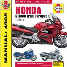 Haynes Manual Honda ST1300 Pan European 2002-2011 NEW