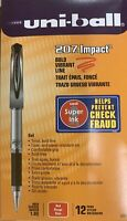 Uniball 207 Impact Bold Vibrant Line, Red, 12 Pen Pack