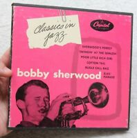 "Bobby Sherwood Classics In Jazz Vinyl Capitol Records Sherwood's Forest 7"" 45 x3"