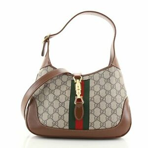 Gucci Jackie 1961 Hobo GG Coated Canvas Small