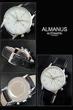 ALMANUS -FLIEGER AUTOMATIK-CHRONOGRAPH HERREN UHR MIT VALJOUX 7750 UHRWERK SWISS