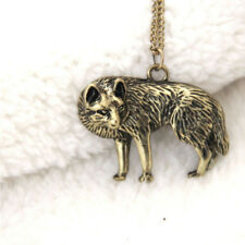 Fashion Retro Style Jewelry Occident Vintage Necklace Long Chain Wolf Pendant
