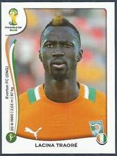PANINI WORLD CUP 2014- #239-COTE D'IVOIRE-IVORY COAST & EVERTON-LACINA TRAORE