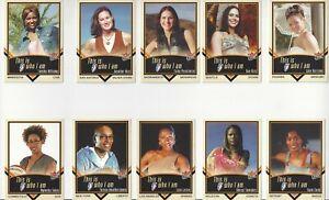 2003 WNBA FLEER * WHO I AM INSERT SINGLES * YOU PICK * SUE BIRD CATCHINGS LESLIE