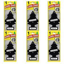 6-12-24-48-96 Little Trees Black Ice Tree Air Freshener Home Car Scent Fragrance