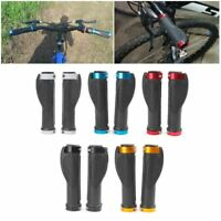 Ergonomic Bike Handle Grip Cycling Bicycle Anti-Skid Road Rubber Lock Handlebar