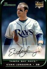 2008 Bowman Draft Baseball #BDP27 Evan Longoria RC Tampa Bay Rays