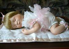 Ashton Drake Ashley Sleeping Ballerina Tutu Asleep Napping Porcelain Doll