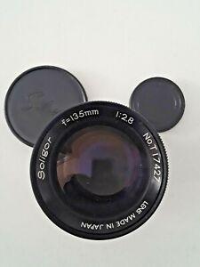 ****** JAPAN SOLIGOR f=135mm 1:2.8 SLR Camera Lens K Mount Both caps f/2.8 *****