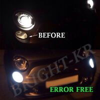 FIAT 500 2007+ ABARTH SUPER WHITE DAY TIME RUNNING DRL LIGHT BULBS -ERROR FREE