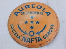 Vintage 1930s Italian AUREOLA SPLENDENTE Metal Tinplate Fuel Petrol Cap