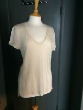 LOVELY GAP PALE YELLOW LINEN SLOUCHY TOP SMALL SOLD OUT £24.95