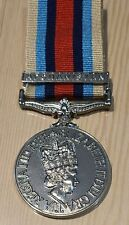 Operational Service Medal OSM with Afghanistan Clasp Medal (Full Size)