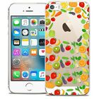 Coque Crystal Pour iPhone 5/5s/SE Extra Fine Rigide Foodie Healthy