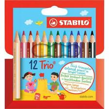 #12xFarbstift Trio dick gelborange