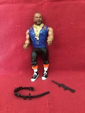 """Mr. T as B.A. Baracus 6"""" action figure The A-Team Vintage 1983 Galoob soldiers"""