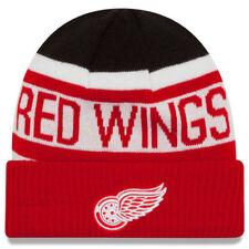 Detroit Red Wings New Era Biggest Fan 2.0 Cuffed Knit Hat