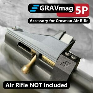 GRAVmag 5P Magazine For Crosman 2240 2250 Ratcatcher Plastic Breech