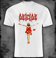 Deicide - Once upon the cross - white t-shirt XS - S - M - L - XL - XXL