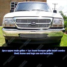 Fits 98-2000 Ford Ranger Billet Grille Combo Insert
